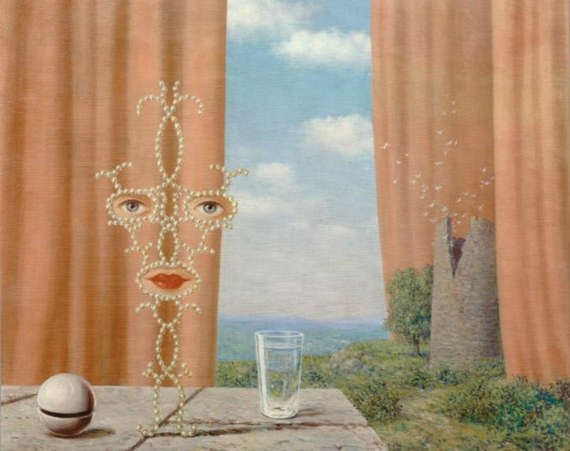 Mes Mots Des Tableaux 1 Sheherazade Par Rene Magritte Rachel Graveline